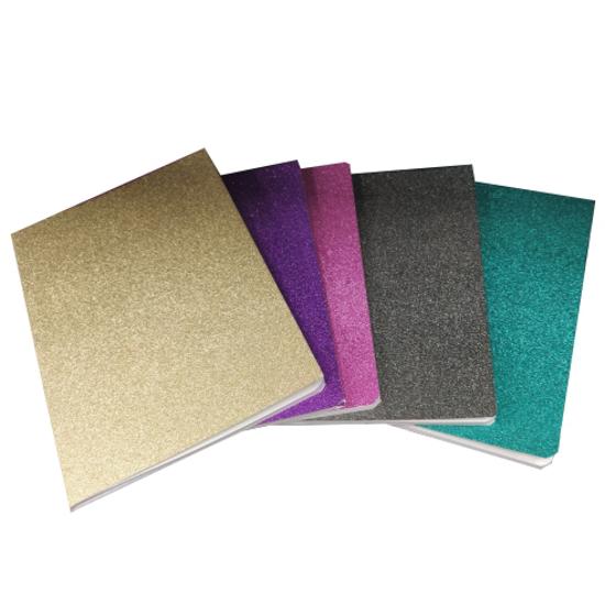 Слика на Тетратка, A5, 52 листови, 80 гр., Линии, Major, Full Glitter