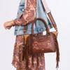 Слика на Чанта, Со Две Рачки, Anekke, Arizona, 30701-90, 25*19*11цм, Кафеава