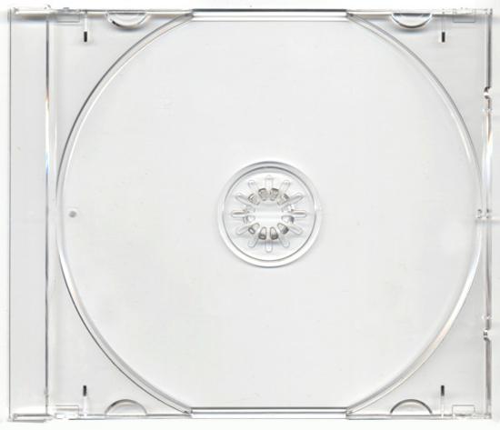 Слика на Кутија за Дискови, Media Range, Jawelbox, BOX110/112-200, Транспарентна